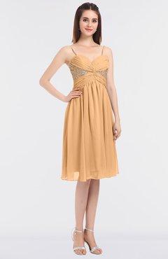 Buff yellow colour dress
