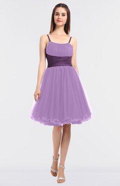 5c6bdd79feb ColsBM Aryana Begonia Elegant Ball Gown Sleeveless Zip up Knee Length  Ruching Bridesmaid Dresses