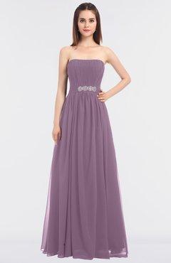 Wedding Bridesmaid Dresses And Gowns Mauve Color Colorsbridesmaid