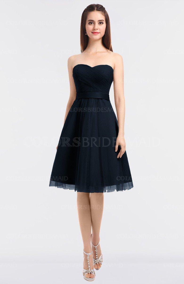 ColsBM Olivia Navy Blue Bridesmaid Dresses - ColorsBridesmaid