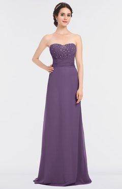 816d01d9e34f ColsBM Sadie Eggplant Elegant A-line Zip up Floor Length Beaded Bridesmaid  Dresses