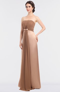 ColsBM Emmalyn Silver Peony Mature A-line Bateau Sleeveless Floor Length Bridesmaid Dresses