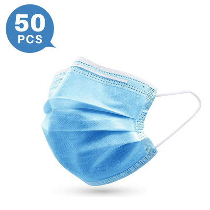 3-ply Disposable Protection Mask Breathable and Skin Friendly