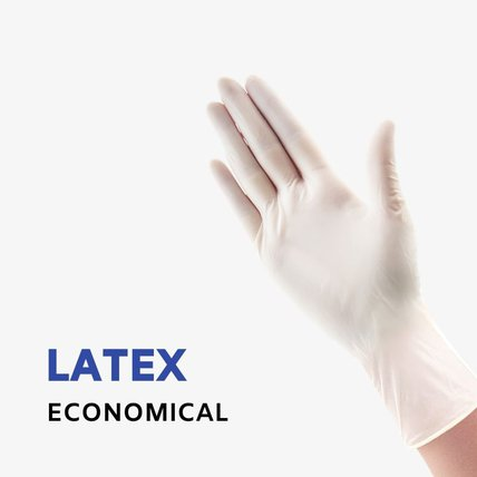 Economical Latex Examine Gloves Disposable Powder-free
