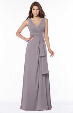 ColsBM Giselle Cameo Gorgeous A-line V-neck Sleeveless Half Backless Pick up Bridesmaid Dresses