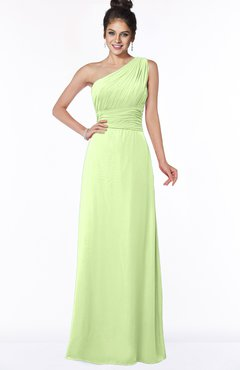 ColsBM Adalyn Butterfly Mature Sheath Sleeveless Half Backless Chiffon Ruching Bridesmaid Dresses