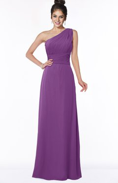 ColsBM Adalyn Dahlia Mature Sheath Sleeveless Half Backless Chiffon Ruching Bridesmaid Dresses