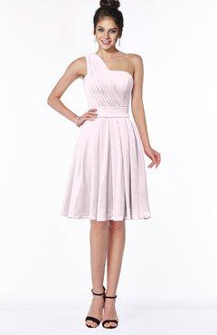 ColsBM Sophia Blush Cute A-line Sleeveless Chiffon Ruching Bridesmaid Dresses