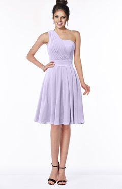 f7c49fcabfc ColsBM Sophia Light Purple Cute A-line Sleeveless Chiffon Ruching  Bridesmaid Dresses