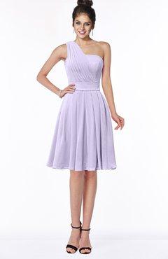 ColsBM Sophia Pastel Lilac Cute A-line Sleeveless Chiffon Ruching Bridesmaid Dresses