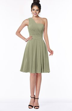 ColsBM Sophia Sponge Cute A-line Sleeveless Chiffon Ruching Bridesmaid Dresses