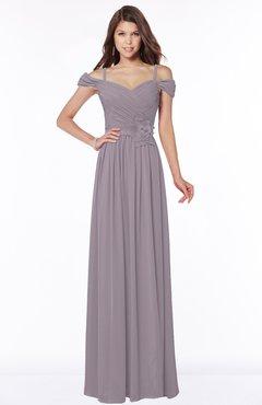ColsBM Kate Cameo Luxury V-neck Short Sleeve Zip up Chiffon Bridesmaid Dresses