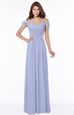 ColsBM Kate Lavender Luxury V-neck Short Sleeve Zip up Chiffon Bridesmaid Dresses