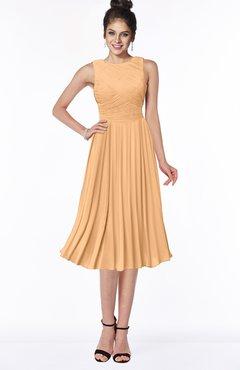 ColsBM Aileen Apricot Gorgeous A-line Sleeveless Chiffon Pick up Bridesmaid Dresses