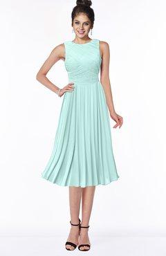 ColsBM Aileen Blue Glass Gorgeous A-line Sleeveless Chiffon Pick up Bridesmaid Dresses