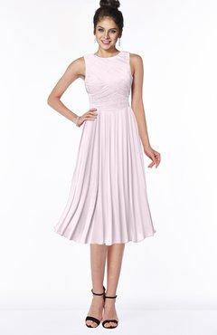 ColsBM Aileen Blush Gorgeous A-line Sleeveless Chiffon Pick up Bridesmaid Dresses