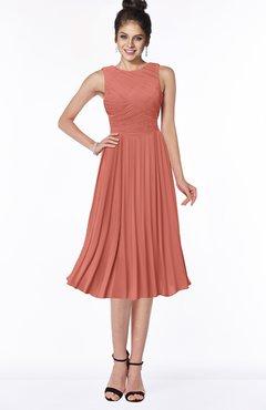 ColsBM Aileen Crabapple Gorgeous A-line Sleeveless Chiffon Pick up Bridesmaid Dresses