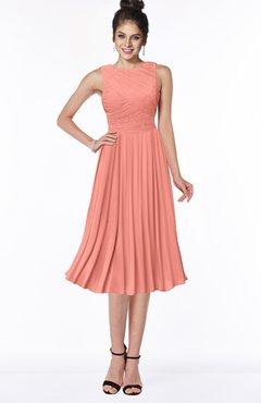 ColsBM Aileen Desert Flower Gorgeous A-line Sleeveless Chiffon Pick up Bridesmaid Dresses