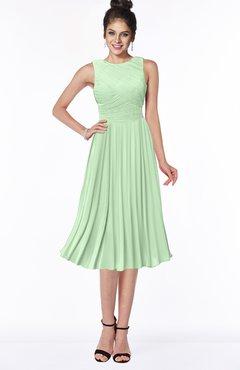 ColsBM Aileen Light Green Gorgeous A-line Sleeveless Chiffon Pick up Bridesmaid Dresses