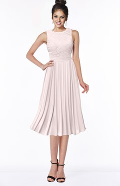 ColsBM Aileen Light Pink Gorgeous A-line Sleeveless Chiffon Pick up Bridesmaid Dresses