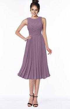 ColsBM Aileen Mauve Gorgeous A-line Sleeveless Chiffon Pick up Bridesmaid Dresses