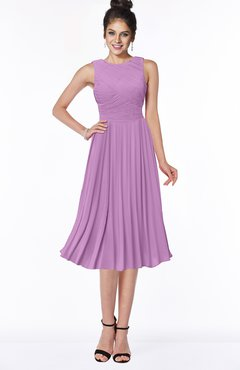 ColsBM Aileen Orchid Gorgeous A-line Sleeveless Chiffon Pick up Bridesmaid Dresses