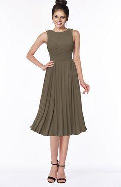 ColsBM Aileen Otter Gorgeous A-line Sleeveless Chiffon Pick up Bridesmaid Dresses