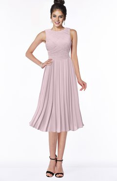 ColsBM Aileen Pale Lilac Gorgeous A-line Sleeveless Chiffon Pick up Bridesmaid Dresses