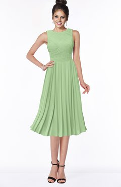 dab309042aa ColsBM Aileen Sage Green Gorgeous A-line Sleeveless Chiffon Pick up  Bridesmaid Dresses
