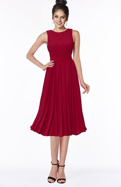 ColsBM Aileen Scooter Gorgeous A-line Sleeveless Chiffon Pick up Bridesmaid Dresses