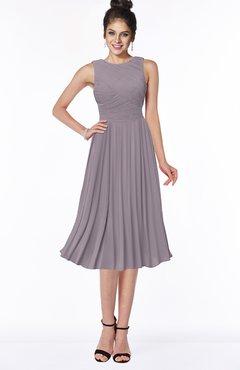 ColsBM Aileen Sea Fog Gorgeous A-line Sleeveless Chiffon Pick up Bridesmaid Dresses