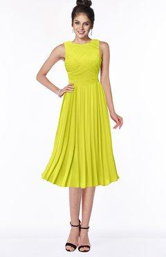 ColsBM Aileen Sulphur Spring Gorgeous A-line Sleeveless Chiffon Pick up Bridesmaid Dresses