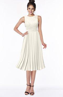 ColsBM Aileen Whisper White Gorgeous A-line Sleeveless Chiffon Pick up Bridesmaid Dresses