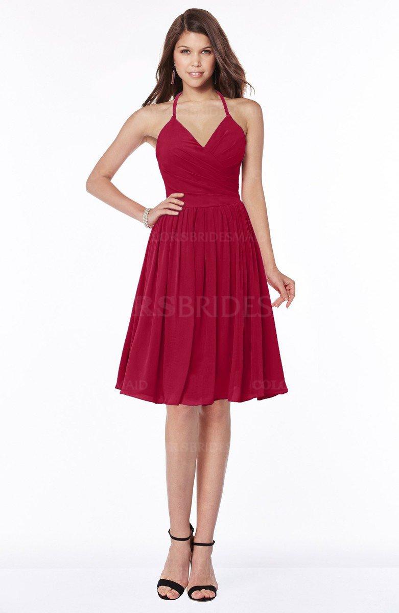choose genuine price remains stable choose newest ColsBM Raine - Dark Red Bridesmaid Dresses