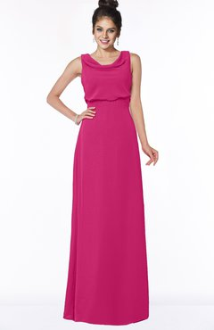 ColsBM Eileen Beetroot Purple Gorgeous A-line Scoop Sleeveless Floor Length Bridesmaid Dresses