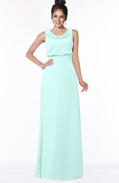 ColsBM Eileen Blue Glass Gorgeous A-line Scoop Sleeveless Floor Length Bridesmaid Dresses