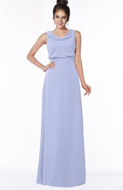 ColsBM Eileen Blue Heron Gorgeous A-line Scoop Sleeveless Floor Length Bridesmaid Dresses