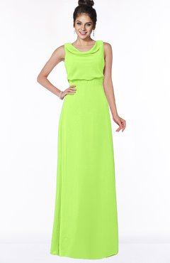 ColsBM Eileen Bright Green Gorgeous A-line Scoop Sleeveless Floor Length Bridesmaid Dresses