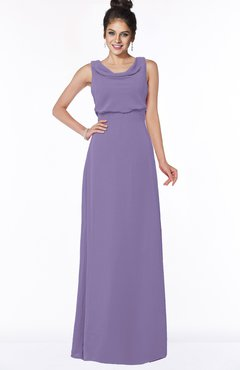 ColsBM Eileen Chalk Violet Gorgeous A-line Scoop Sleeveless Floor Length Bridesmaid Dresses