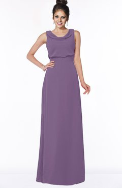 ColsBM Eileen Chinese Violet Gorgeous A-line Scoop Sleeveless Floor Length Bridesmaid Dresses