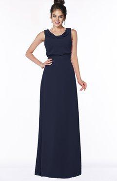 ColsBM Eileen Dark Sapphire Gorgeous A-line Scoop Sleeveless Floor Length Bridesmaid Dresses