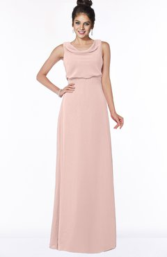 ColsBM Eileen Dusty Rose Gorgeous A-line Scoop Sleeveless Floor Length Bridesmaid Dresses