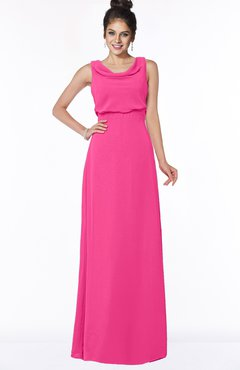 ColsBM Eileen Fandango Pink Gorgeous A-line Scoop Sleeveless Floor Length Bridesmaid Dresses