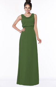 ColsBM Eileen Garden Green Gorgeous A-line Scoop Sleeveless Floor Length Bridesmaid Dresses
