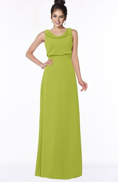 ColsBM Eileen Green Oasis Gorgeous A-line Scoop Sleeveless Floor Length Bridesmaid Dresses