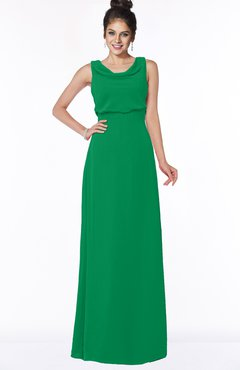 ColsBM Eileen Green Gorgeous A-line Scoop Sleeveless Floor Length Bridesmaid Dresses