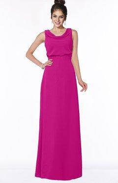 ColsBM Eileen Hot Pink Gorgeous A-line Scoop Sleeveless Floor Length Bridesmaid Dresses