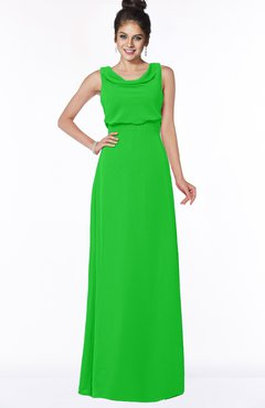ColsBM Eileen Jasmine Green Gorgeous A-line Scoop Sleeveless Floor Length Bridesmaid Dresses