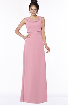 ColsBM Eileen Light Coral Gorgeous A-line Scoop Sleeveless Floor Length Bridesmaid Dresses