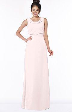ColsBM Eileen Light Pink Gorgeous A-line Scoop Sleeveless Floor Length Bridesmaid Dresses